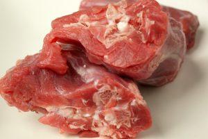 生食で健康 犬の食事/比較 鴨のネックの断面